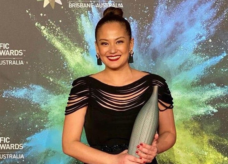 Max Eigenmann wins Best Actress in the 13th Asia Pacific Screen Awards
