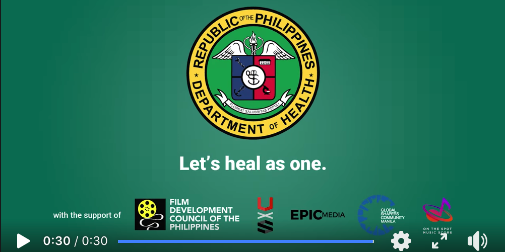 We Heal As One Video Campaign