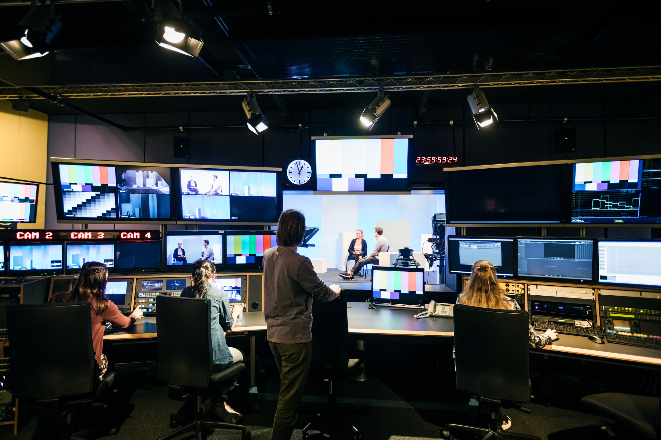 Audio-visual industry suffers as production slows