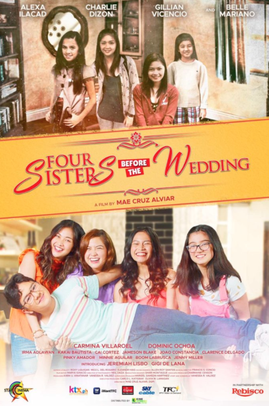'Four Sisters Before The Wedding' is Star Cinema's early Christmas offering on December 11