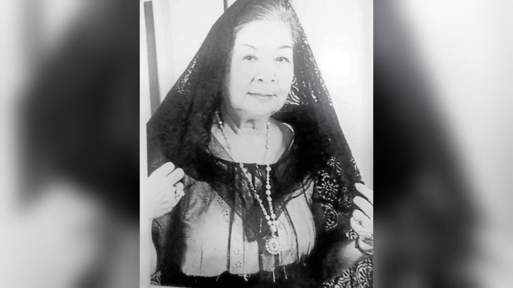 Naty Crame-Rogers, Philippine theater legend, passes away at 98