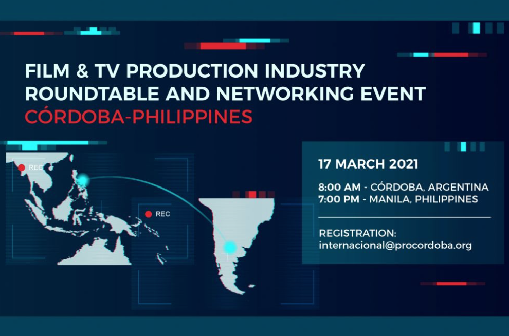 DTI, FDCP Lead Delegation to Córdoba-Philippines Film & TV Production Industry Roundtable and Networking