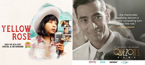 Filipino films 'Yellow Rose,' 'Quezon's Game' now on streaming platforms
