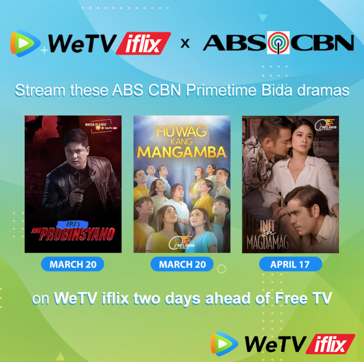 WeTV iflix, ABS-CBN join forces to bring the best entertainment experience